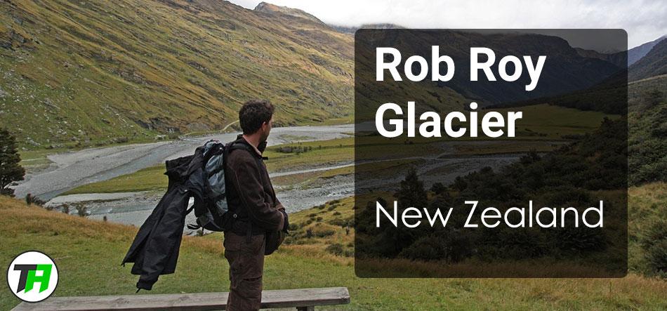Rob Roy Glacier, Wanaka, New Zealand